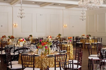 How to Include Metallics In Your Corporate Event Without Going Overboard | Legendary Events