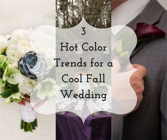 3 Fall Wedding Ideas | Legendary Events