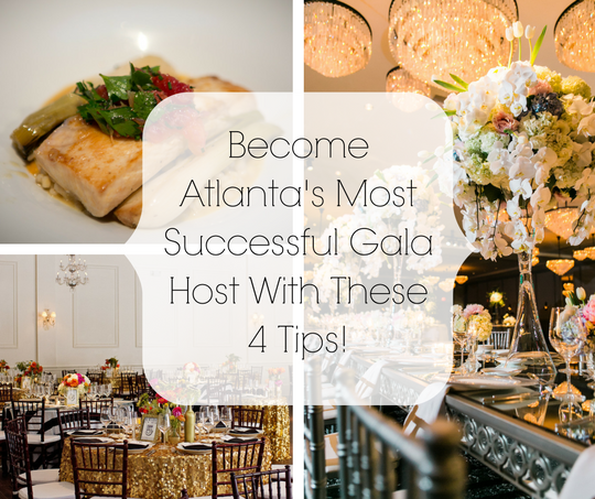 Catering and Design to Make the Best Atlanta Social Event | Legendary Events