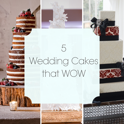 Wedding Cakes that WOW | Legendary Events