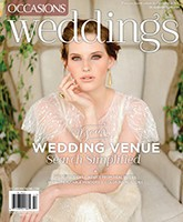Featured in Occasions Weddings Magazine | September 2014 | Legendary Events