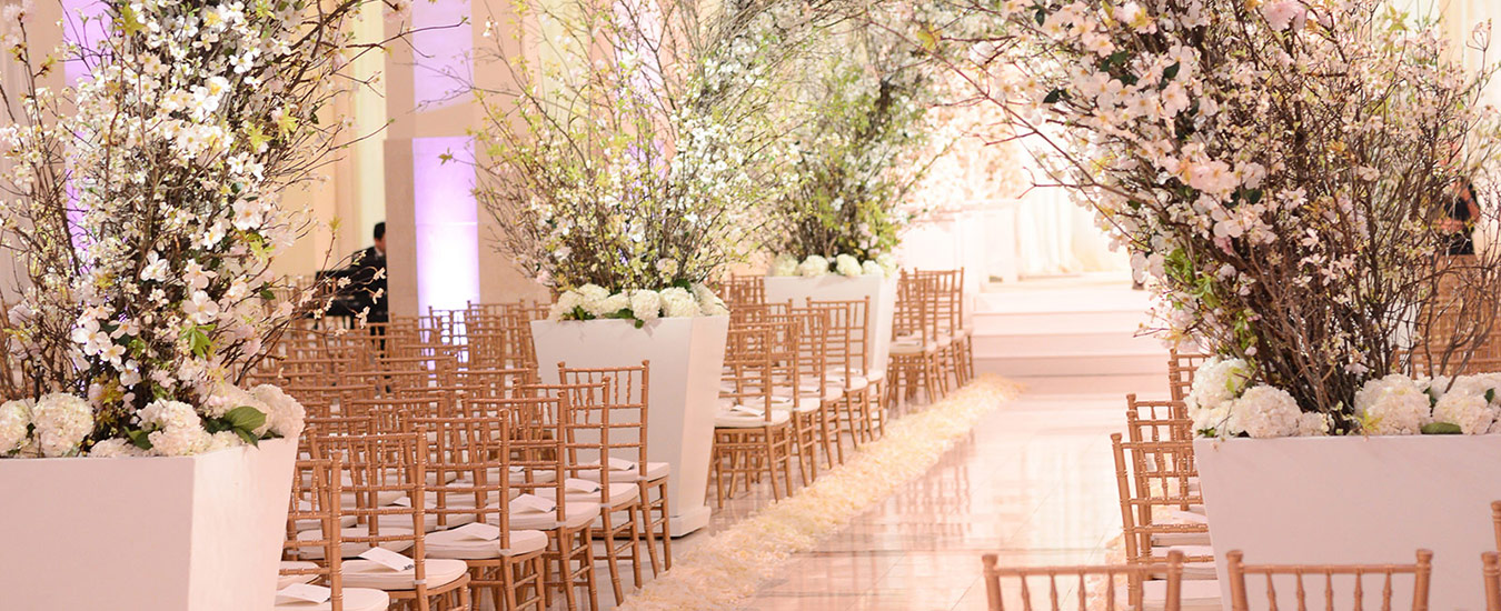 Breathtaking wedding design by Legendary Events